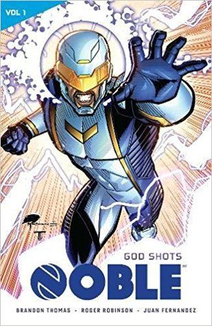 (Lion Forge) Noble Volume God Shots Astronaut David Powell was one of the team of five astronauts who took on the suicide mission of destroying the Icarus2 asteroid before it could collide with Earth and annihilate all life on the planet. The team succeeded, but as a result of the explosion, David gained the ability of telekinesis, the means of moving matter with one's mind.