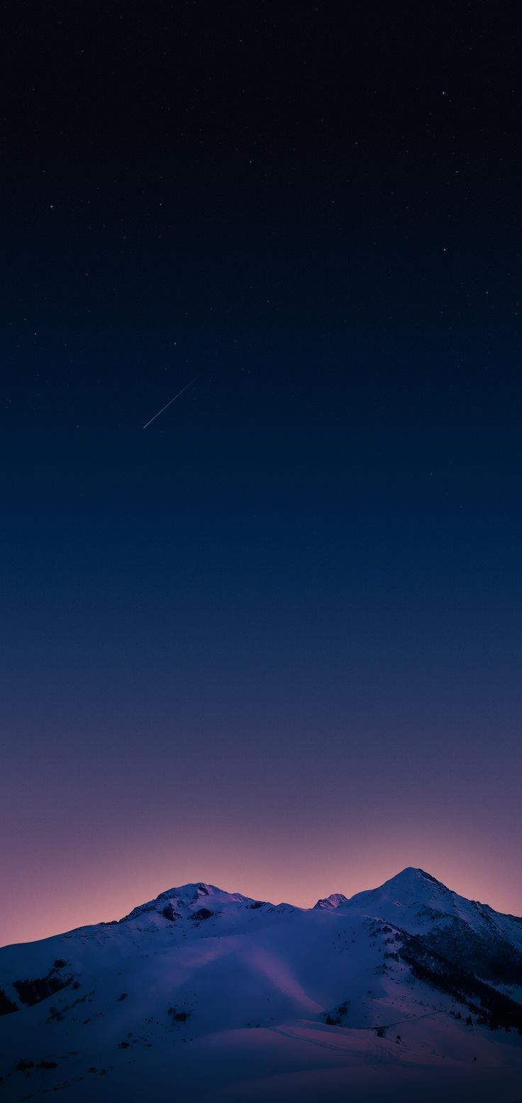 Mountain Sky Blue Night Stars Wallpaper Clean Galaxy Colour Photography S8 Walls Samsung Galaxy S8 S9 Zayn Xxiv Pint Google Pixel Wallpaper Iphone Wallpaper Ios Samsung Wallpaper