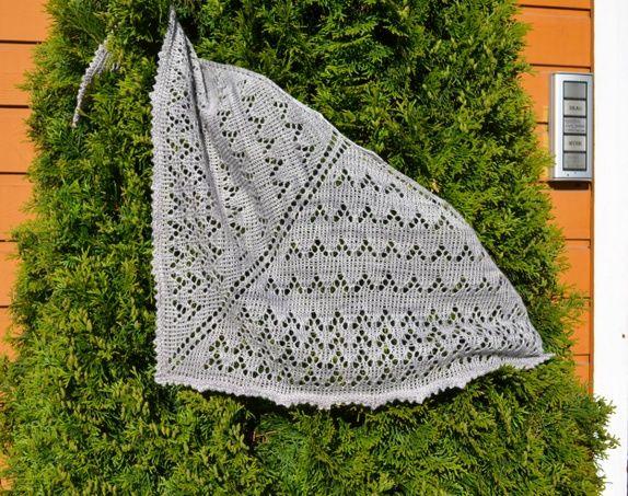 Trekant sjal