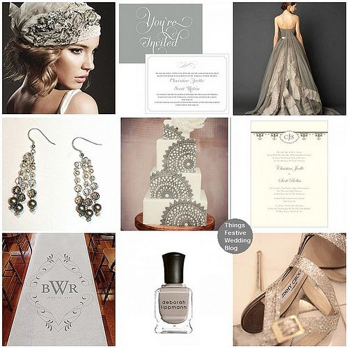80 best images about winter wedding ideas on pinterest for Sophisticated color palette