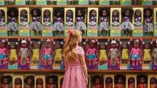 These photos ront unflinchingly confront racial stereotypes and the roles people of different races often play in American society. - CNN.com
