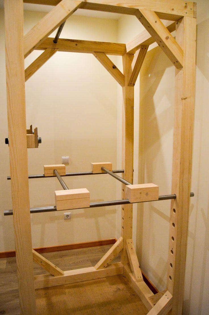 diy carlos mein hausgemachtes power rack wohnung. Black Bedroom Furniture Sets. Home Design Ideas