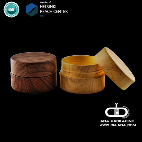 ADA-CP-204/wooden jar/cosmetic packaigng/biodegradable cosmetic containers/100g 160g 250g/ REACH,GMP
