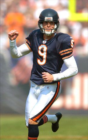 Robbie Gould - Kicker for the Chicago Bears and Penn State