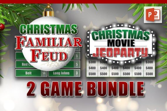 Christmas Jeopardy Christmas Jeopardy Christmas Trivia Printable Christmas Games