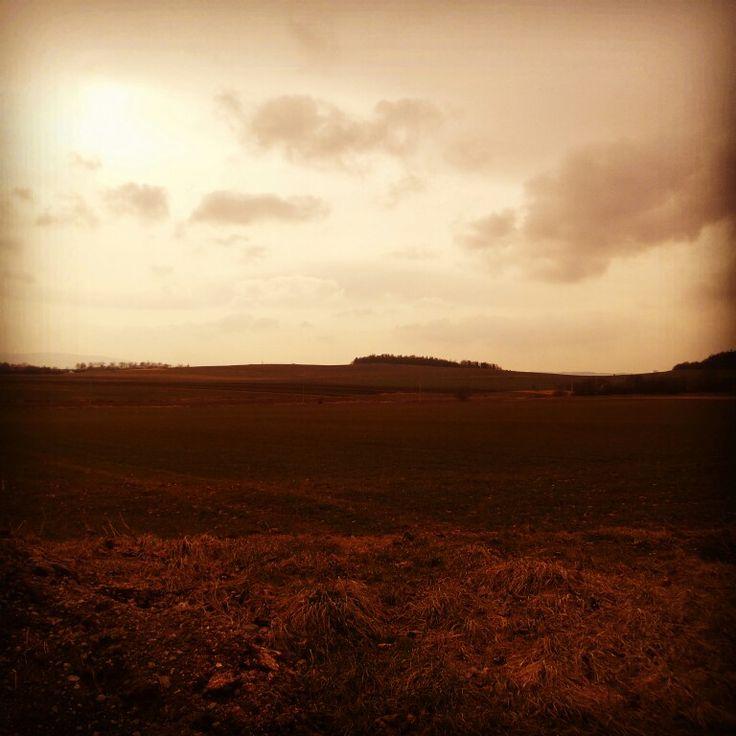 #polskie #pola ⭐#polish #fields ⭐ #pole #niebo #sky #zachod #slonca #popoludnie #niedziela #afternoon #sunday ⭐#ziemiaklodzka #dolnoslaskie #polska #poland
