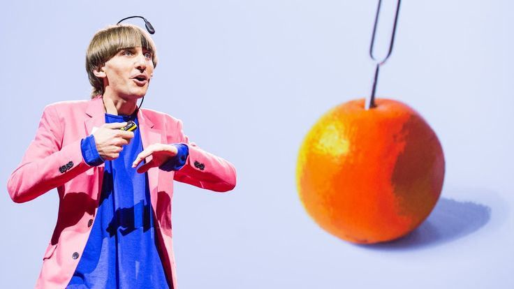 """Artist Neil Harbisson was born completely color blind, but these days a device attached to his head turns color into audible frequencies. Instead of seeing a world in grayscale, Harbisson can hear a symphony of color -- and yes, even listen to faces and paintings."" —TEDTalks."