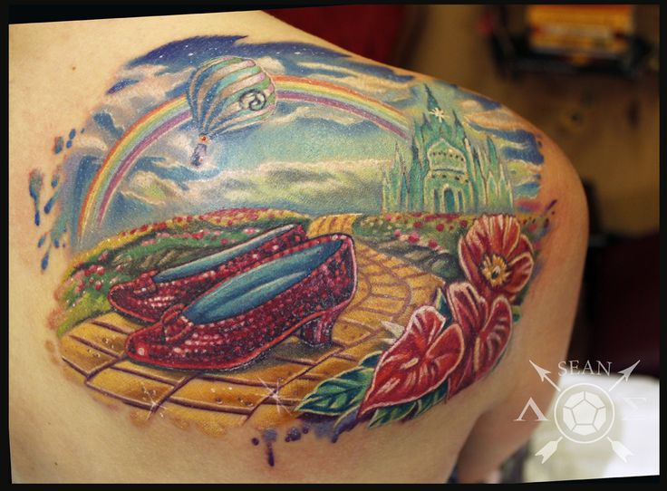 wizard of oz tattoos - Google Search