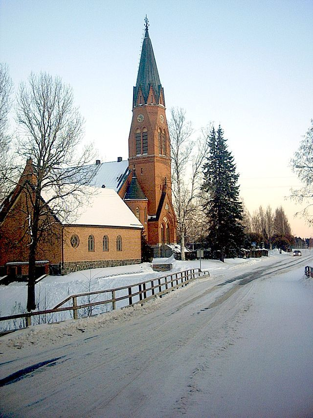 Kauhava Lutheran church, Finland.
