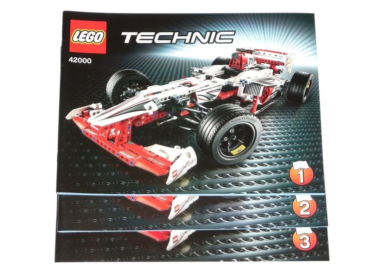 Lego Technic 8043 Instructions