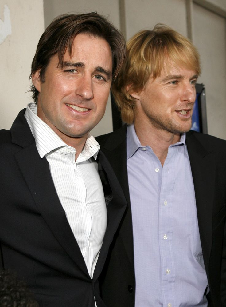 Owen Wilson and Luke Wilson? Now these are some talented siblings!
