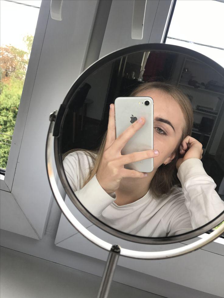 сфотографировать в зеркале без камеры могу