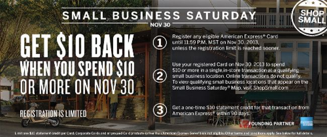 Small Business Saturday #ShopSmall  #mancyssteakhouse