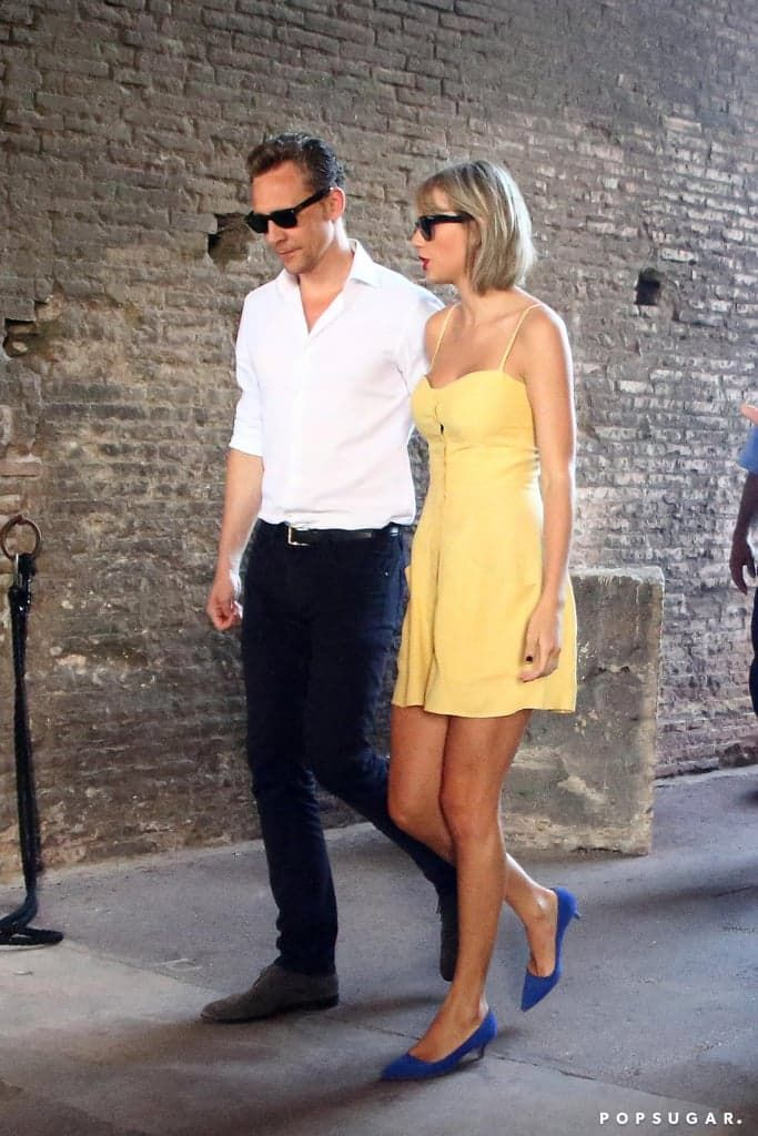 Taylor Swift and Tom Hiddleston in Rome Photos June 2016 | POPSUGAR Celebrity