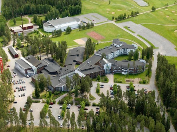 Härmän Kuntokeskus - Finnish Spa, Ostrobothnia province of Western Finland.- Ylihärmä, Pohjanmaa - Österbotten