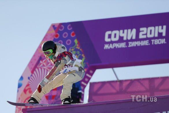 Американська сноубордистка Джеймі Андерсон стала першою в історії олімпійською чемпіонкою у слоупстайлі