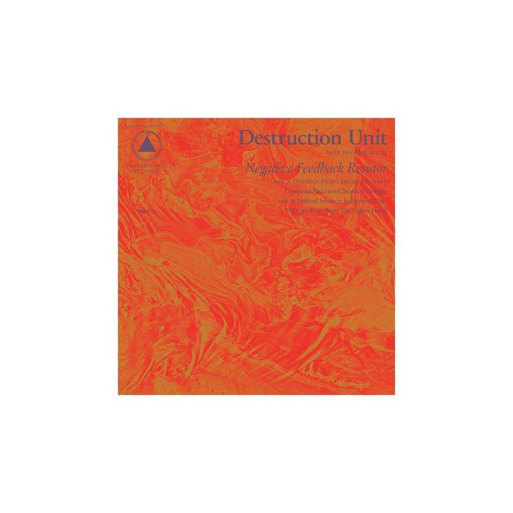 Destruction unit - Negative feedback resistor (CD)