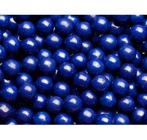 Dark Navy Blue Mini Milk Chocolate Balls: 5LB Bag