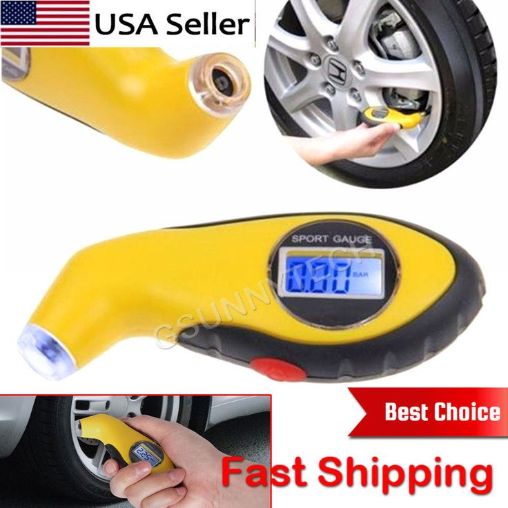 US-Deals Cars LCD Digital Car Truck Motorcycle Tire Tyre Air Pressure Gauge Tester Tool Auto: $5.95 End Date: Friday Mar-16-2018…%#USDeals%