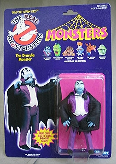 THE REAL GHOSTBUSTERS MONSTERS DRACULA ACTION FIGURE