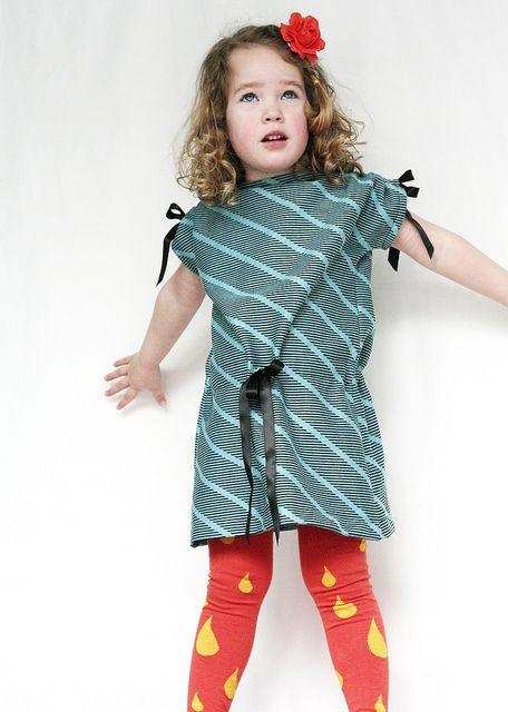 Leven met Liv: Een jurk/t-shirt in een uurtje: tutorial