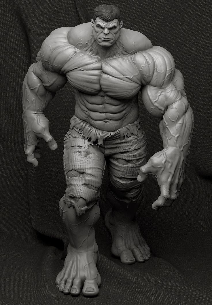 http://www.zbrushcentral.com/showthread.php?191334-Hulk-Collectible-Statue                                                                                                                                                                                 Más