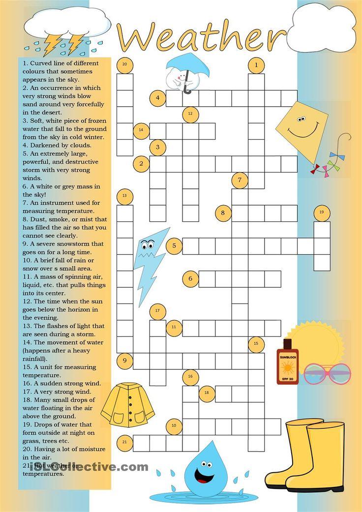 Crossword: Weather