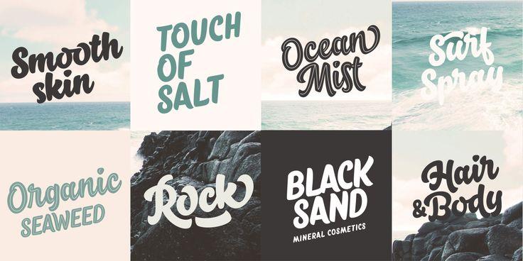 Salty™ - Webfont & Desktop font « MyFonts