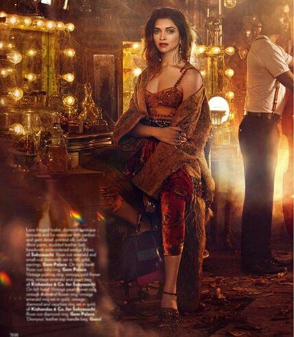 Deepika Padukone pulls up all t possible colours