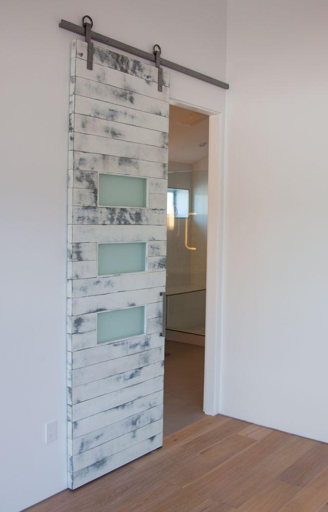 109 best images about barn door ideas on pinterest for Interior glass barn door designs