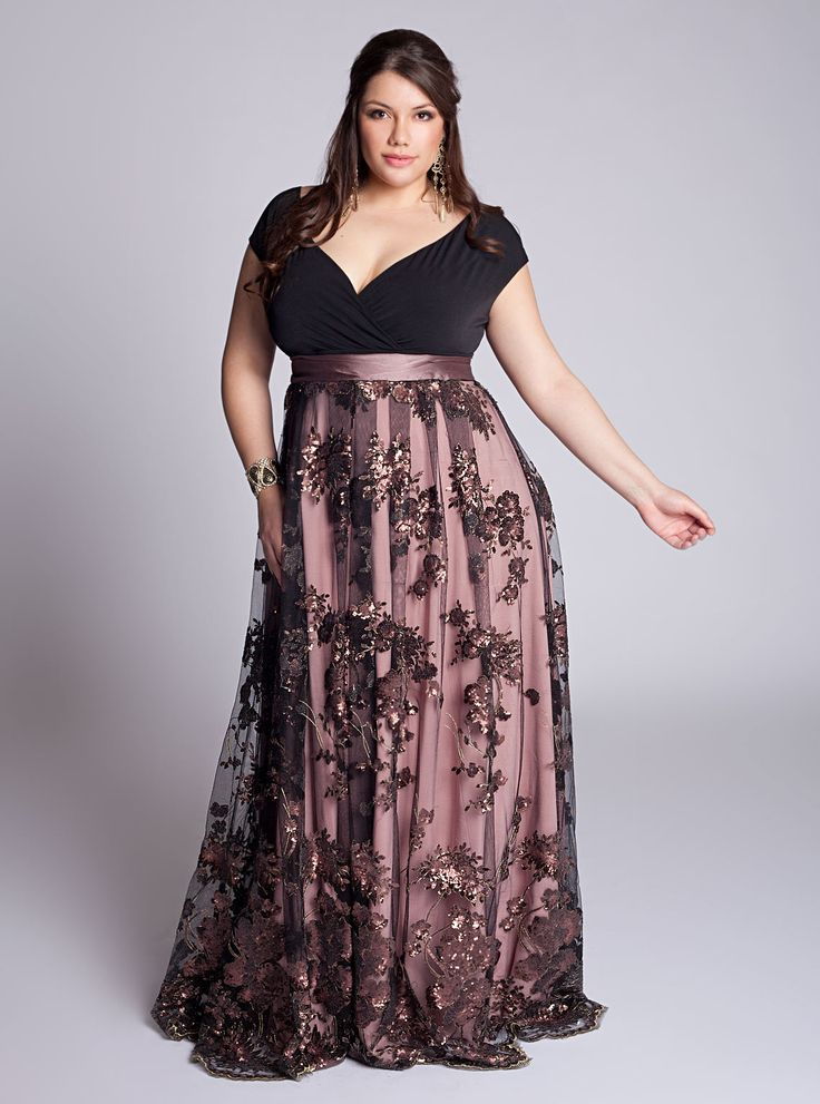 7 best Plus Size Gorgeous Gowns images on Pinterest