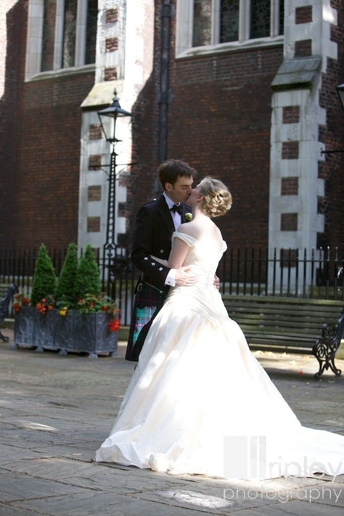Outside the Middle Temple Hall. So romantic!