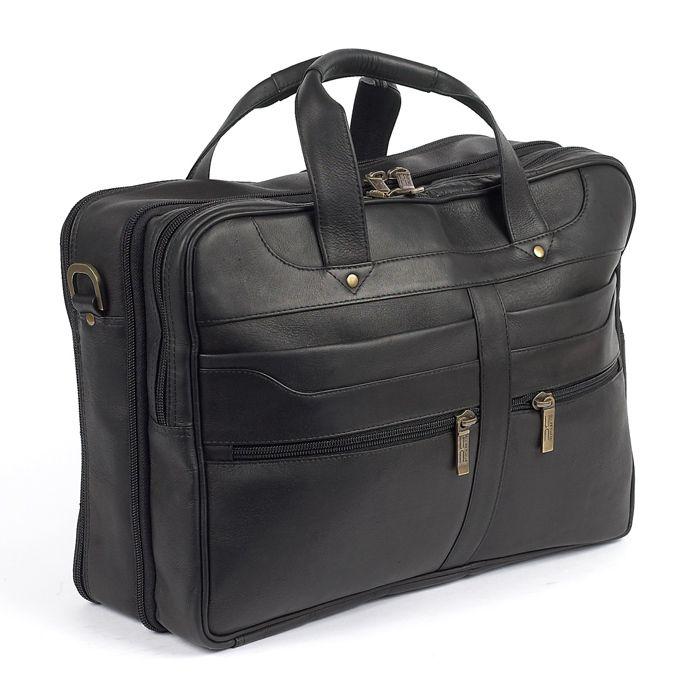 "Meridien Leather 13"" Laptop & iPad Carrying Case—Buy Now!"