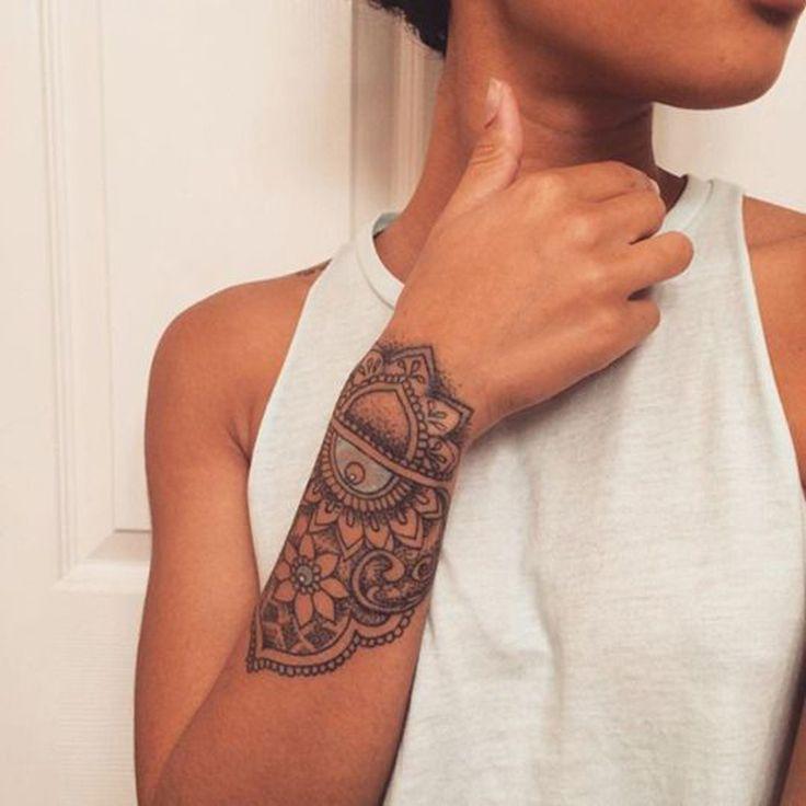 Les 25 meilleures id es de la cat gorie tattoo manchette sur pinterest tatouage dotwork - Manchette tatouage femme ...