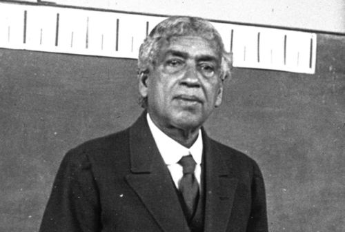 This is Jagadish Chandra Bose, who is too often overlooked in history for his contributions