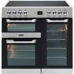 Buy Leisure CS90C530X Cuisinemaster Stainless Steel 90cm Electric Range Cooker With Ceramic Hob from Appliances Direct - the UK's leading online appliance specialist