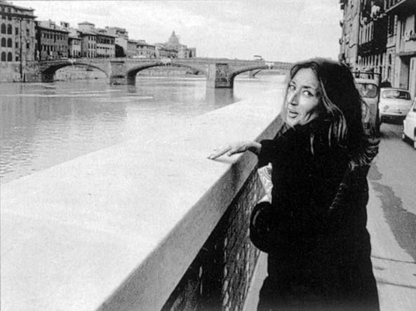 Oriana Fallaci a Firenze