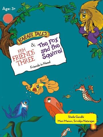 The Fox & The Squirrel by Karadi Tales-Childrens Animation & Cartoons DVD in English & Hindi Language.