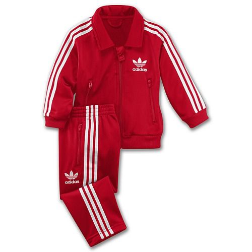 you know our kid is gonna rock the tracksuit :). Adidas ...