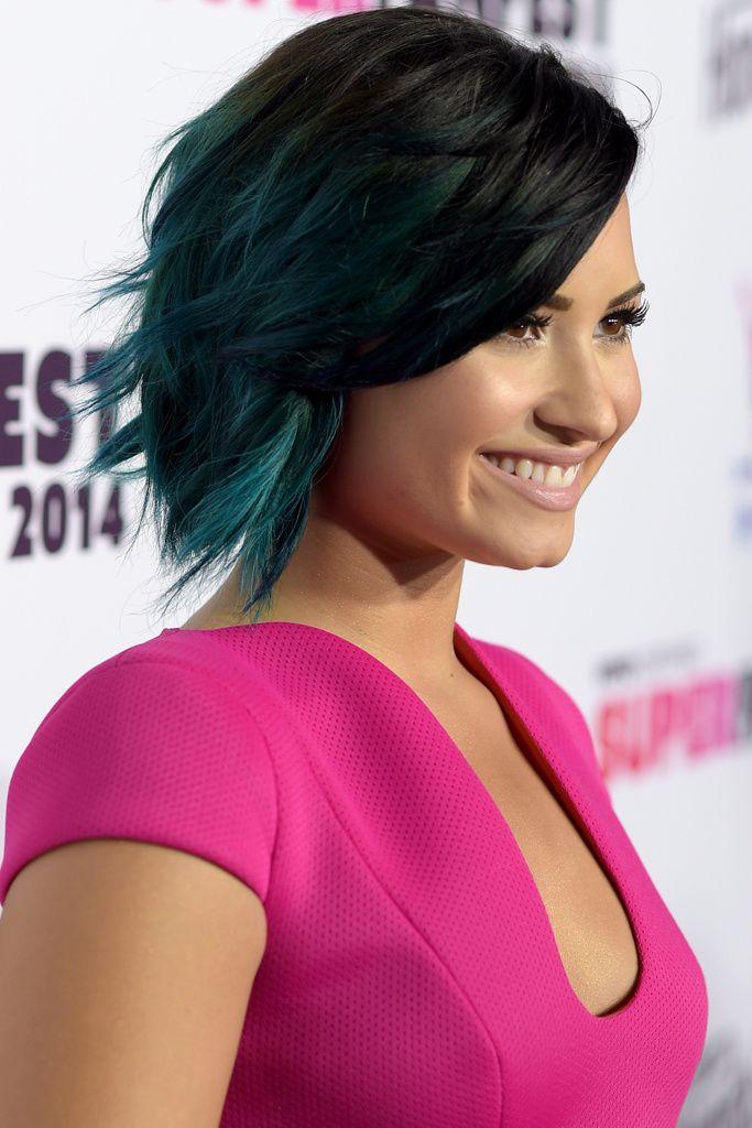 Simple y con estilo peinados pelo corto cara redonda Fotos de ideas de color de pelo - Melenas Rainbow (con imágenes) | Peinados pelo mediano ...