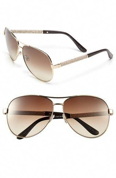 e7d91f22a0a1 Jimmy Choo 'Lexie/S' 61mm Metal Aviator Sunglasses (Nordstrom Exclusive)  available