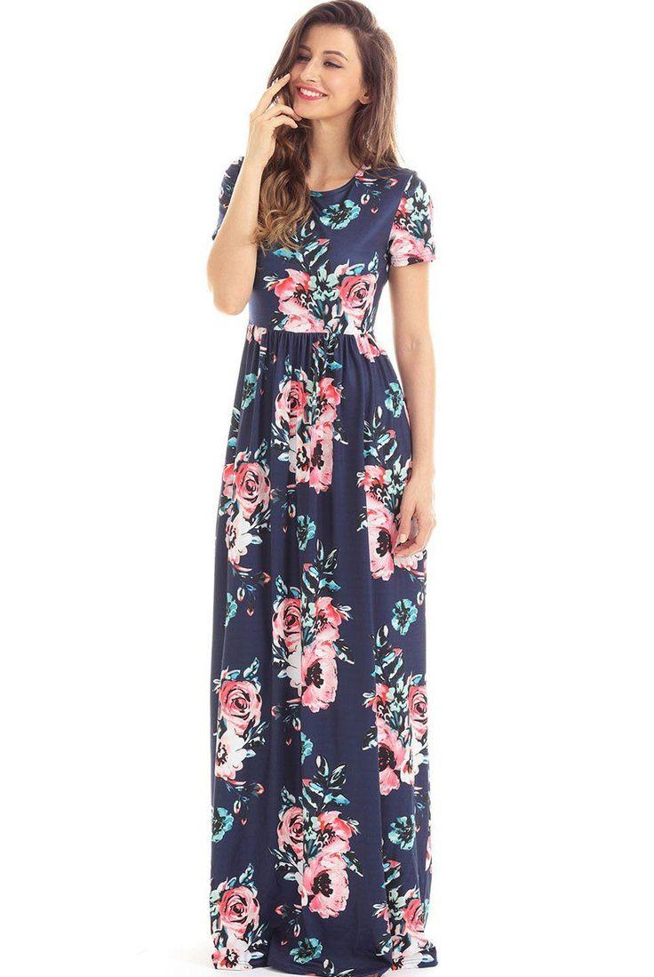 Pocket Design Short Sleeve Navy Blue Floral Maxi Dress - https://sorihe.com/test/2018/03/04/pocket-design-short-sleeve-navy-blue-floral-maxi-dress/ #Dresses #Blouses&Shirts #Hoodies&Sweatshirts #Sweaters #Jackets&Coats #Accessories #Bottoms #Skirts #Pants&Capris #Leggings #Jeans #Shorts #Rompers #Tops&Tees #T-Shirts #Camis #TankTops #Jumpsuits #Bodysuits #Bags