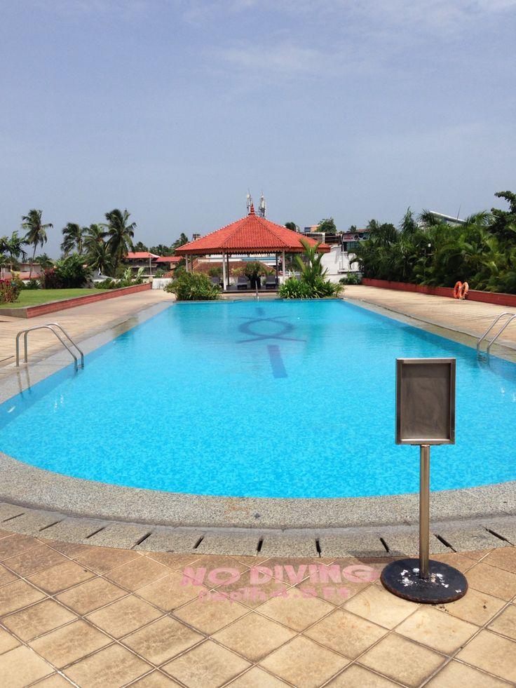 Swimming pool hotel Vivanta by Taj in Trivandrum