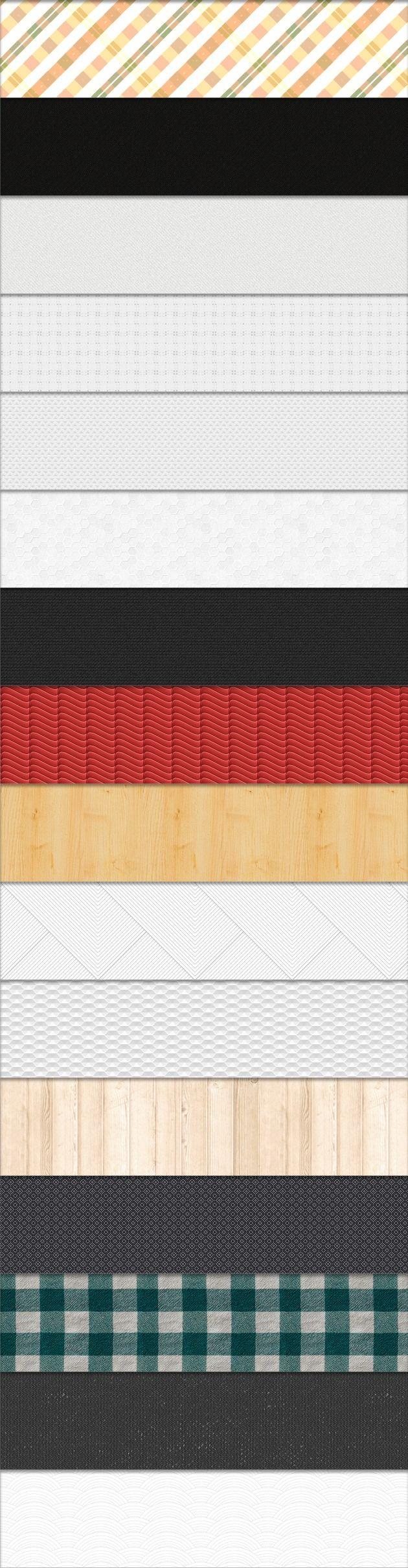 Free Vectors - 300 seamless patterns