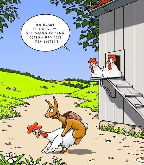 Ber ideen zu huhn humor auf pinterest comic for Lustige bilder zu ostern