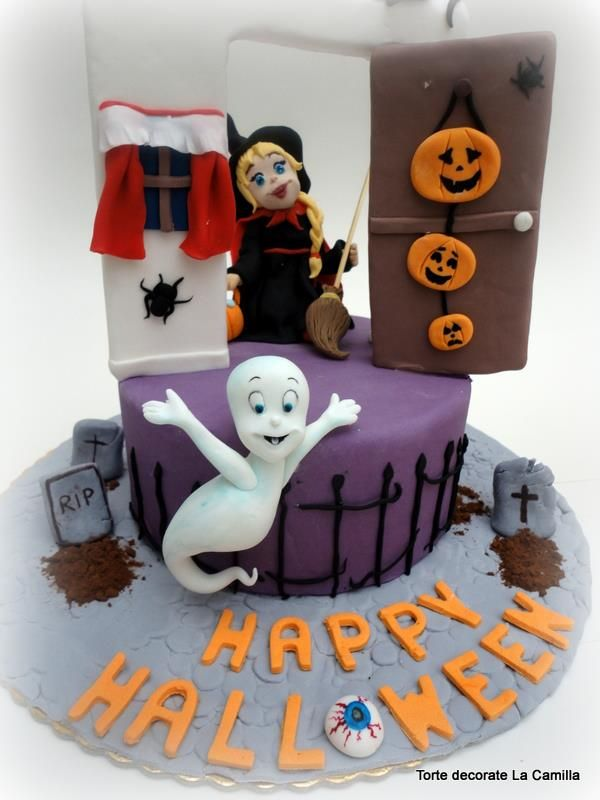 tutorial how to make a cake for a ghost casper halloween spectacular for all - Halloween Cakes Decorations