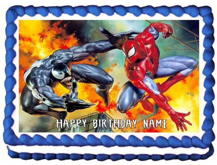 Venon Cake Birthday