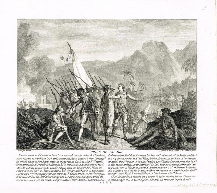 Prise de Tabago le 2 juin 1781