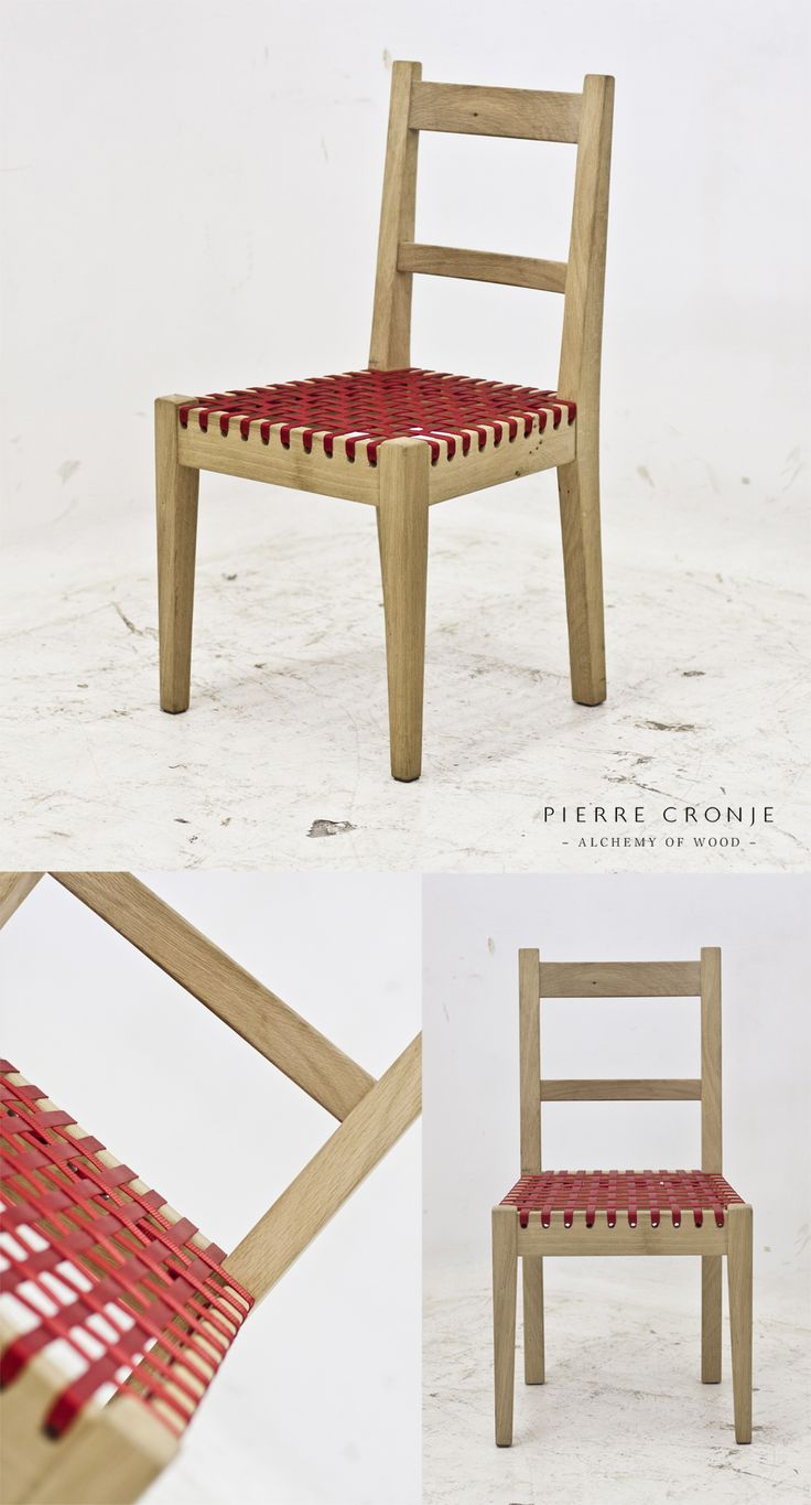 Pierre Cronje's 'Simply Pierre' Karoo Chair with Red Webbing
