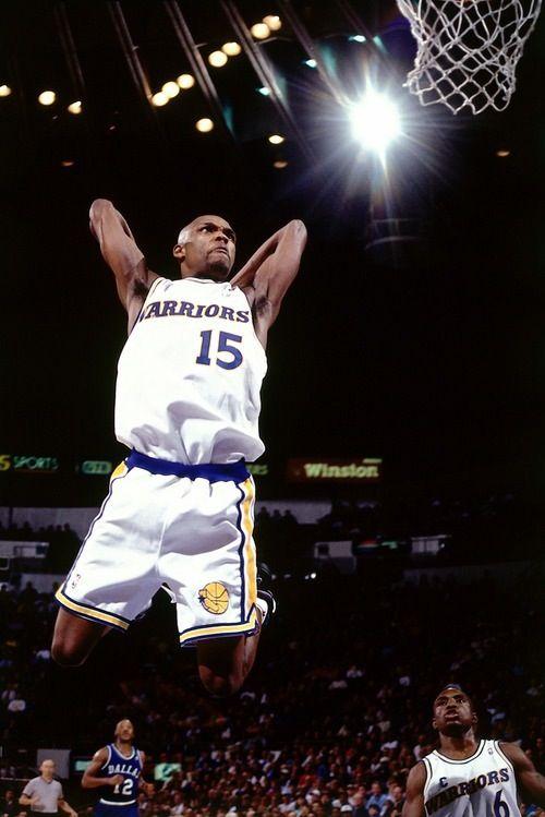 Latrell Sprewell Golden State Warriors Avery Johnson Derek Harper Dallas Mavericks
